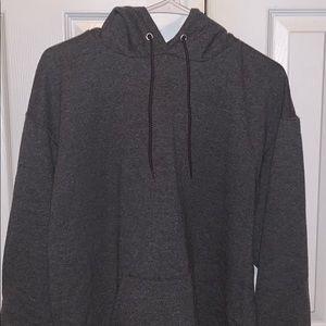 Dark Gray Champion Sweatshirt
